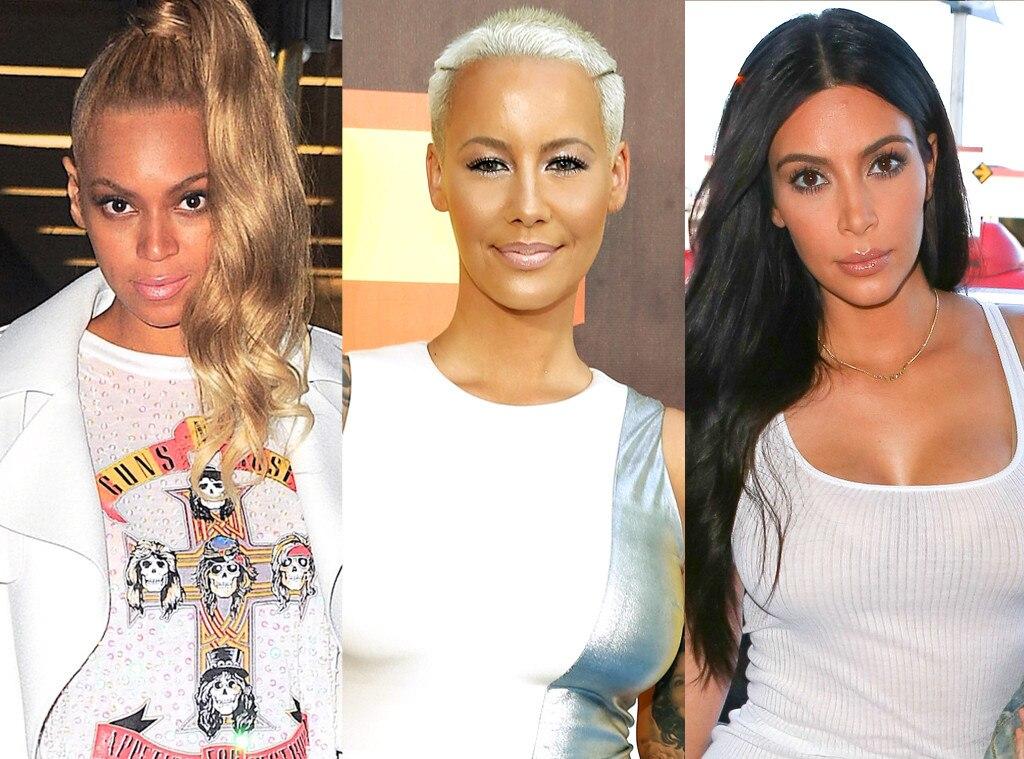 Beyonce, Amber Rose, Kim Kardashian