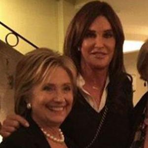 Caitlyn Jenner, Hillary Clinton