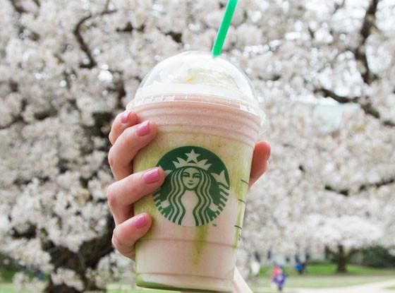 Starbucks, Cherry Blossom Frappuccino