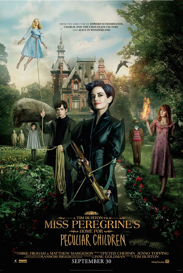 Miss Peregerine's Home For Peculiar Children