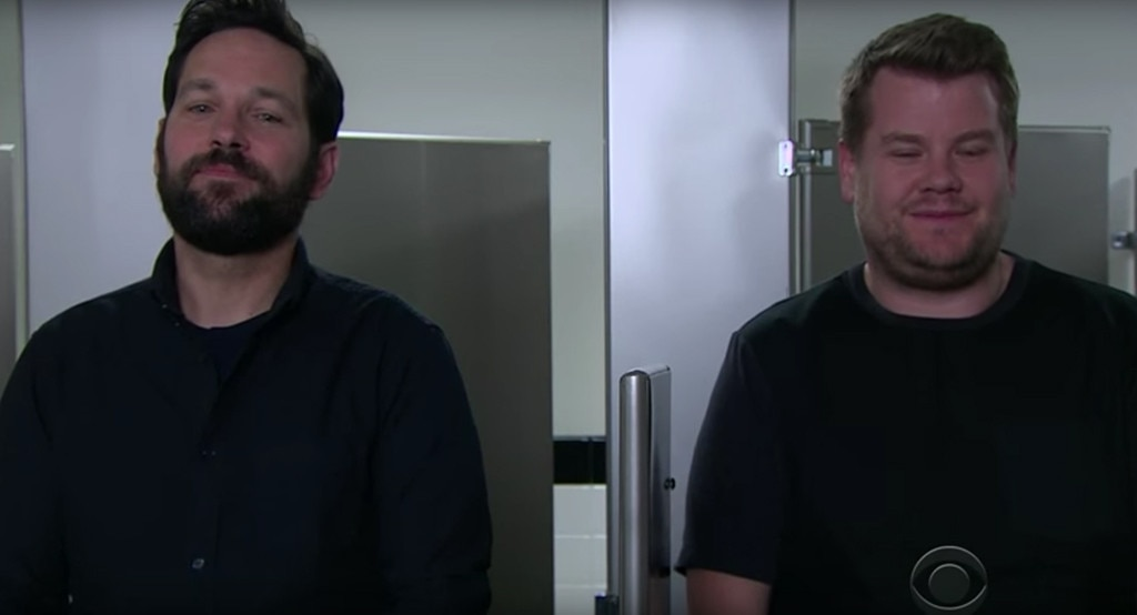 Paul Rudd, James Corden