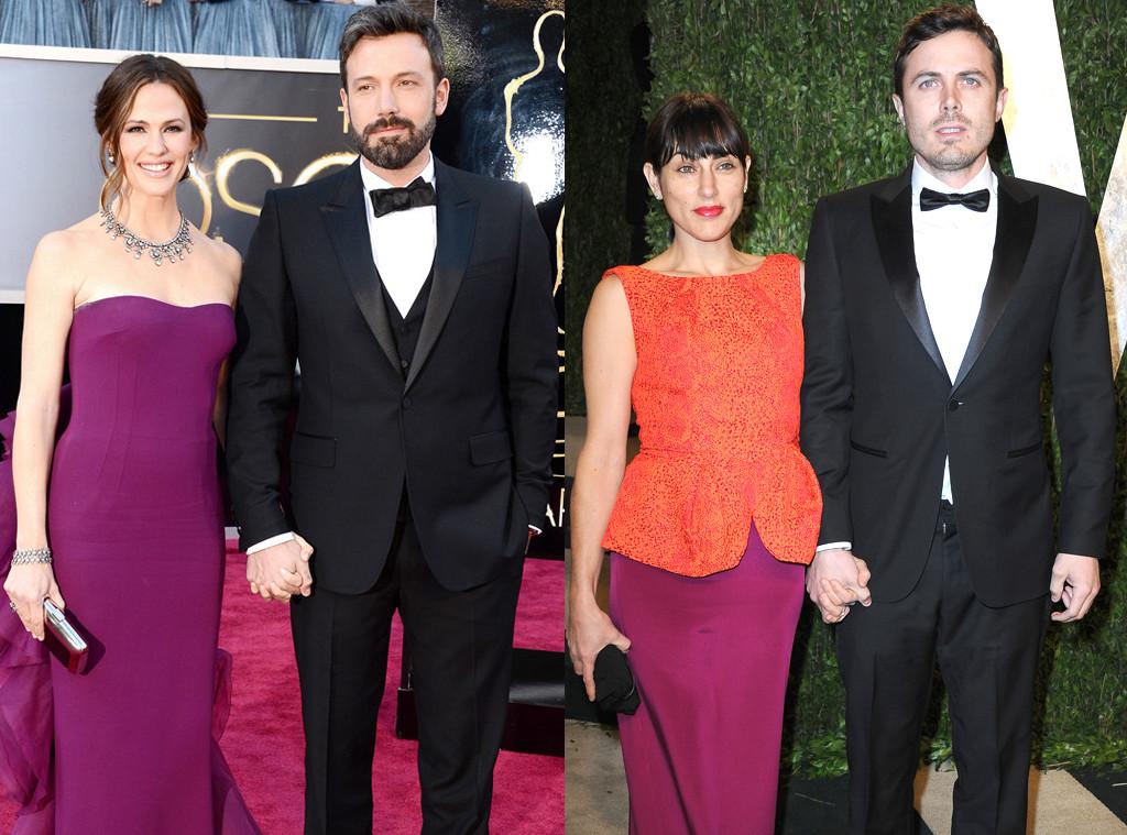 Ben Affleck, Casey Affleck, Summer Phoenix, Jennifer Garner
