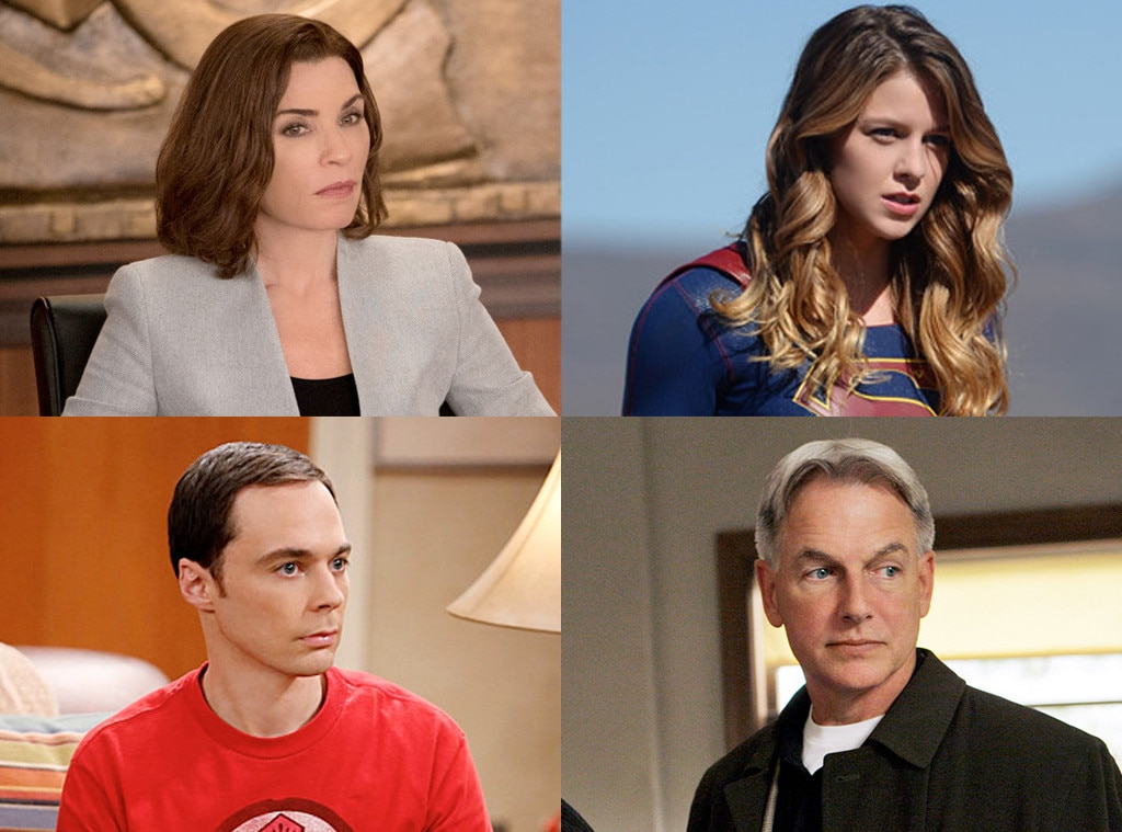 CBS Shows, The Good Wife, Super Girl, Big Bang Theory, NCIS