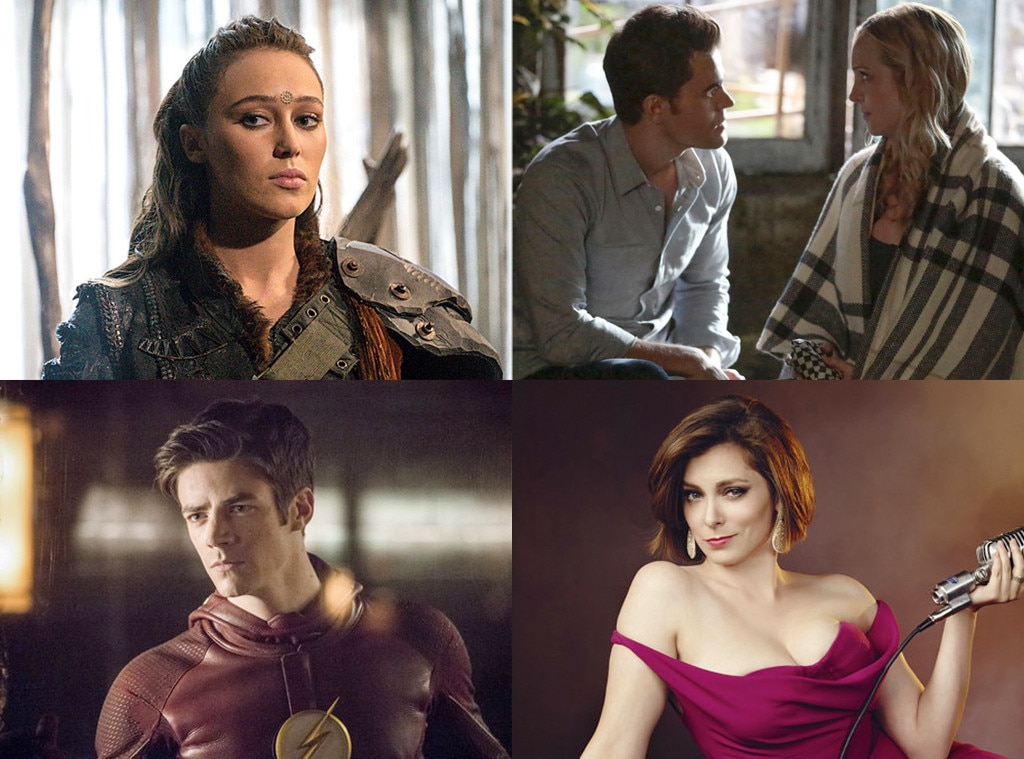 CW Shows, The 100, The Vampire Diaries, The Flash, Crazy Ex-Girlfriend