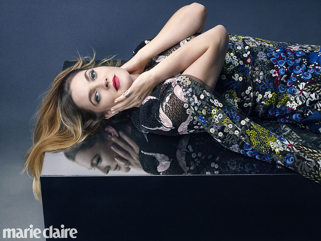 Drew Barrymore, Marie Claire, April 2016