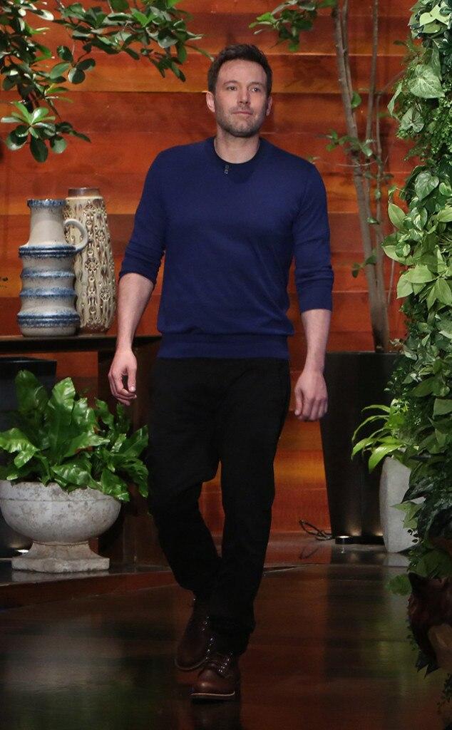 Ben Affleck, The Ellen DeGeneres Show