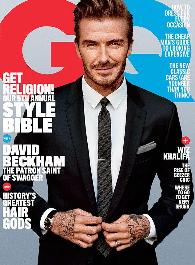 David Beckham, GQ