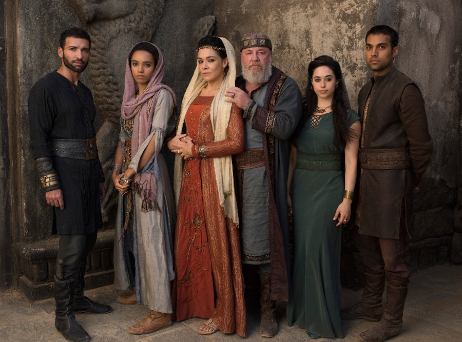 Of Kings and Prophets Cast