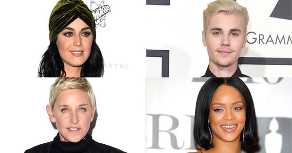Twitter Birthday, Katy Perry, Justin Bieber, Ellen Degeneres, Rihanna
