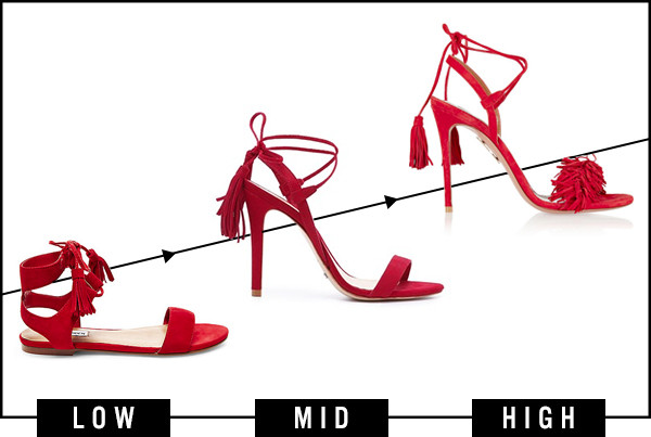ESC, Dare to Wear, Red Tassel Shoes