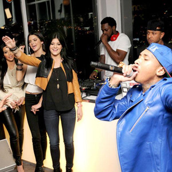 Kim Kardashian, Tyga, Kendall Jenner, Kylie Jenner