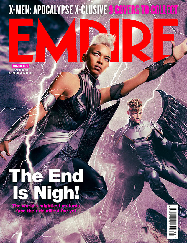 X-Men: Apocalypse, Empire, Cover 1