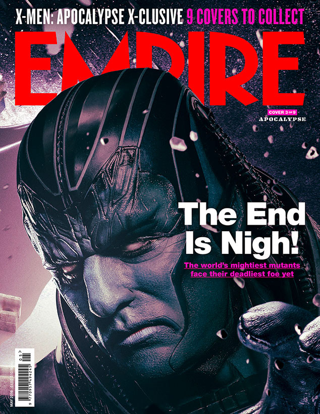 X-Men: Apocalypse, Empire, Cover 3
