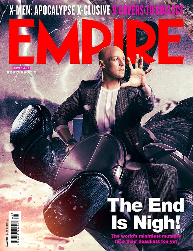 X-Men: Apocalypse, Empire, Cover 4