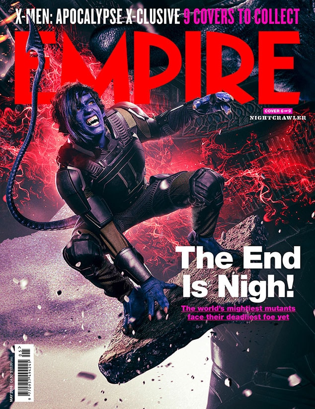 X-Men: Apocalypse, Empire, Cover 6