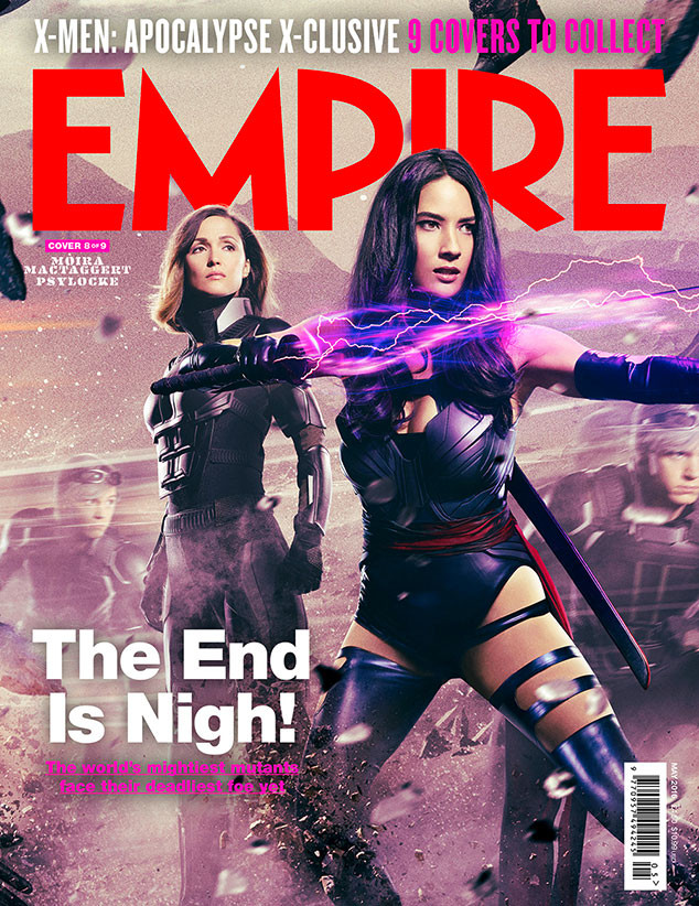 X-Men: Apocalypse, Empire, Cover 8