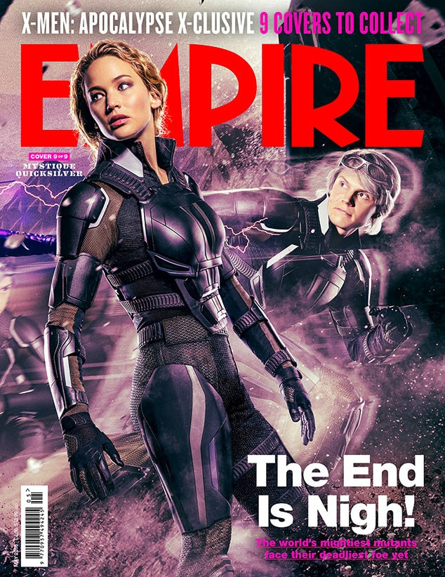 X-Men: Apocalypse, Empire, Cover 9