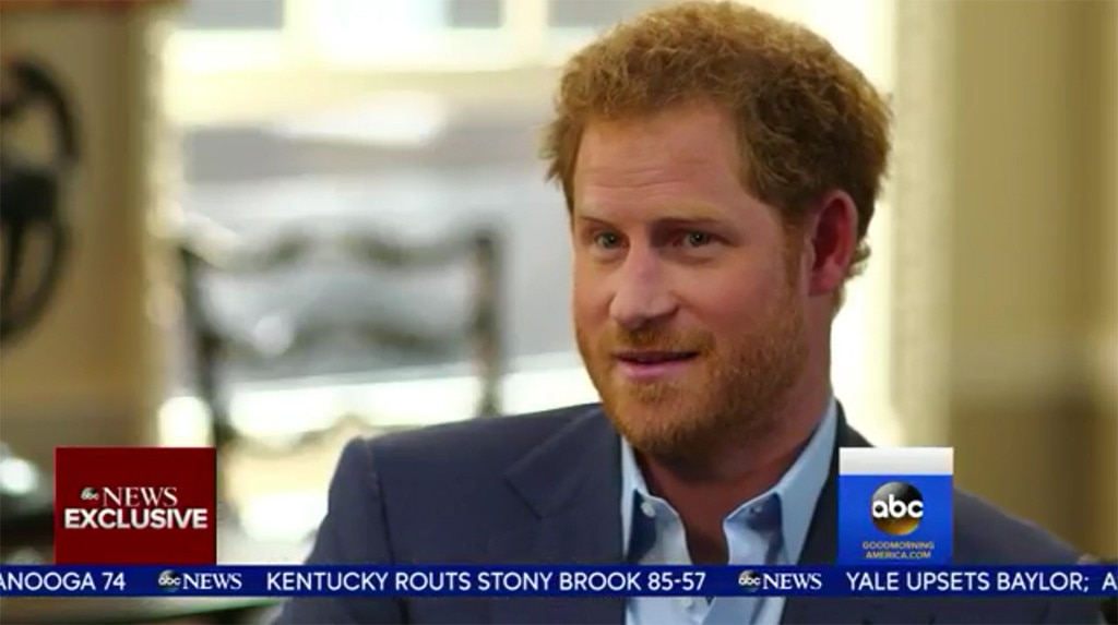 Prince Harry, Good Morning America