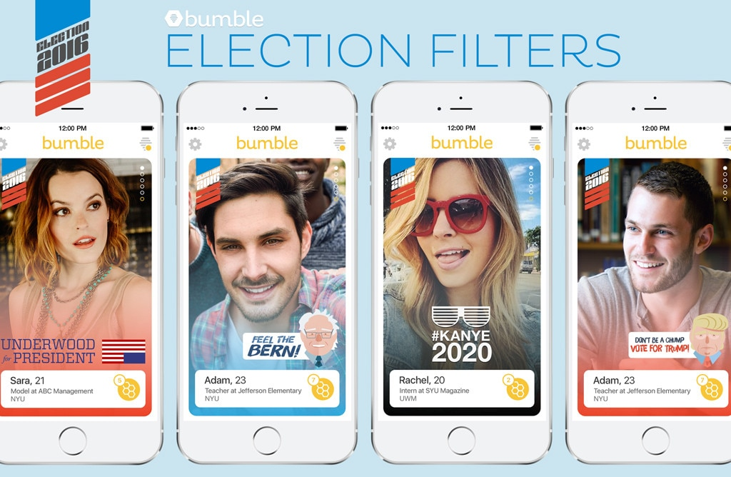 Bumble Election Filters