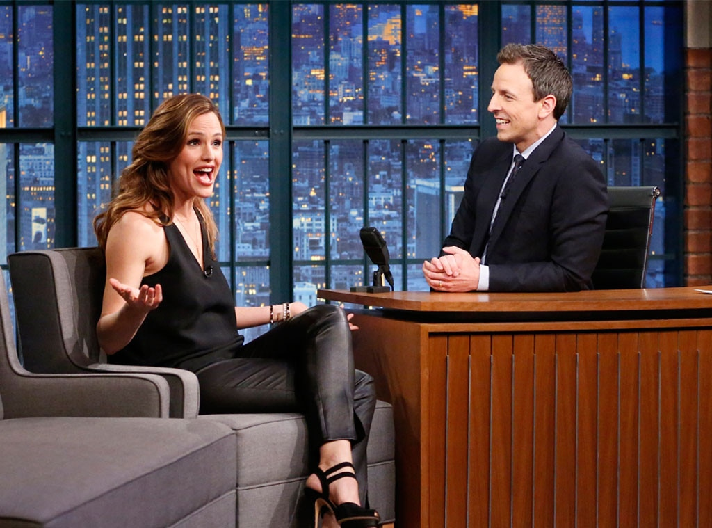 Jennifer Garner, Seth Meyers