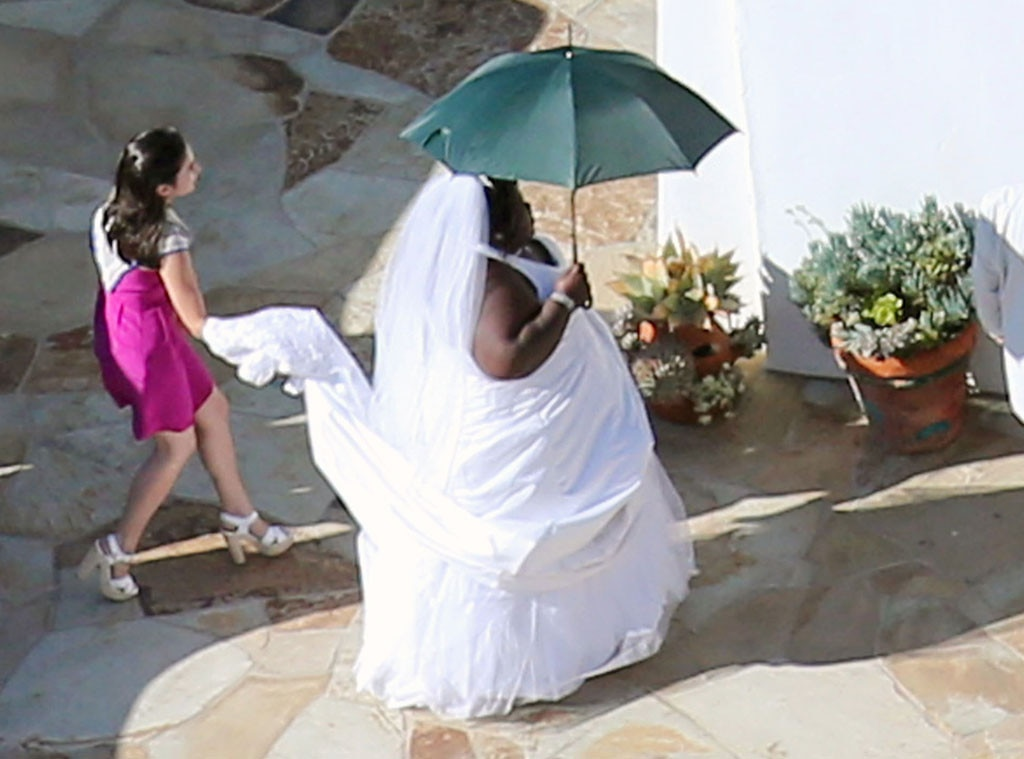 Gabourey Sidibe, Jimmy Kimmel Wedding