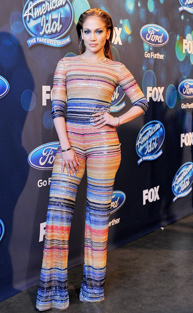 Jennifer Lopez, American Idol Fashion