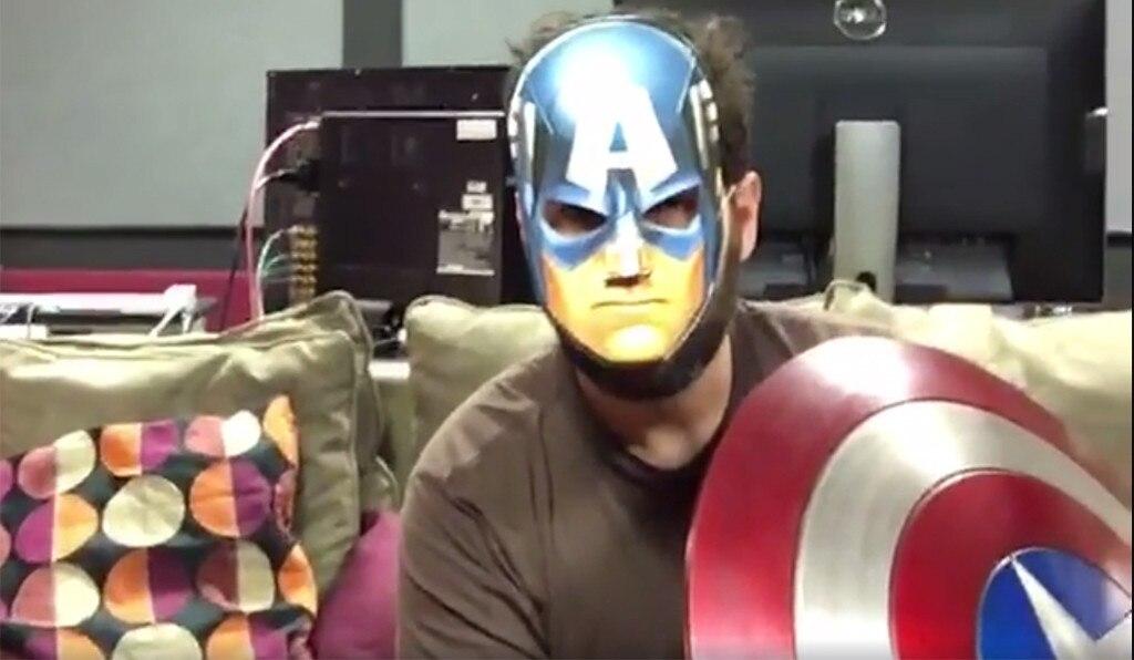 Paul Rudd, <i>Captain America: Civil War</i>, Facebook Video