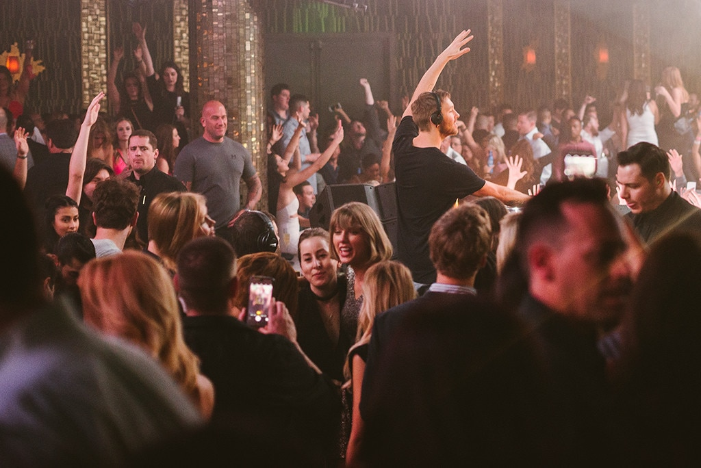 Taylor Swift, Calvin Harris, Las Vegas Nightclub