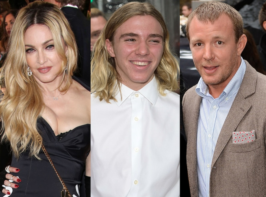 Madonna, Rocco Ritchie, Guy Ritchie