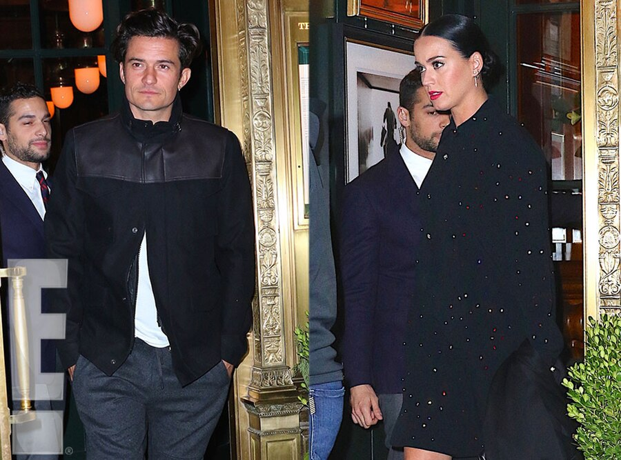 Katy Perry, Orlando Bloom, Date Night, Exclusive