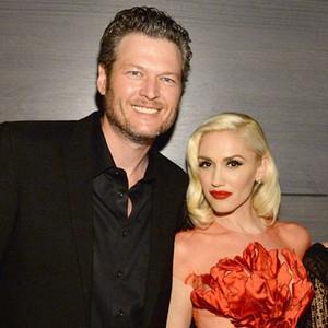 Blake Shelton, Gwen Stefani, Inside Vanity Fair Oscar Party
