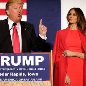 Donald Trump, Melania Trump, 2016