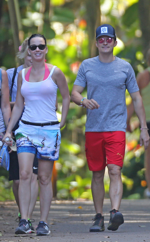 Katy Perry, Orlando Bloom, Favorite Celebrity Vacation Spots