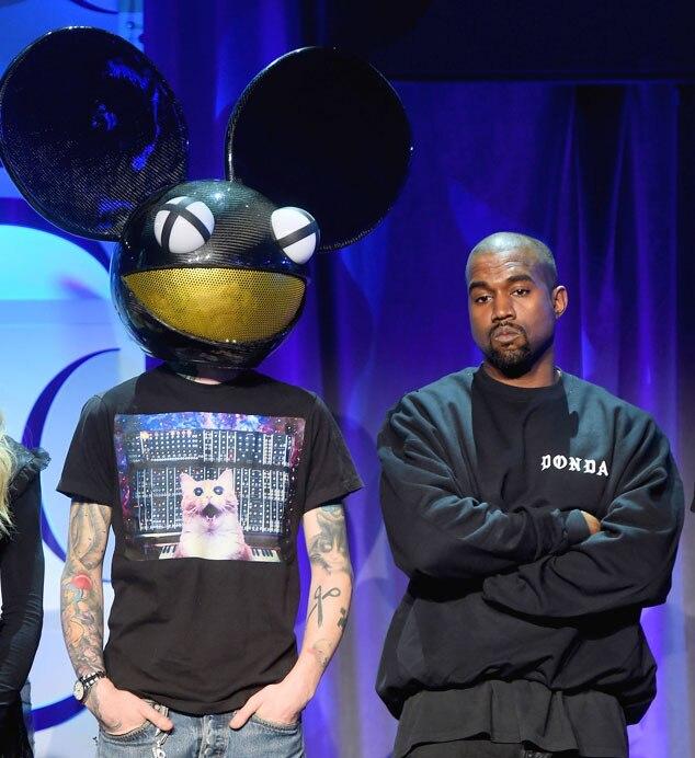 Deadmau, Kanye West