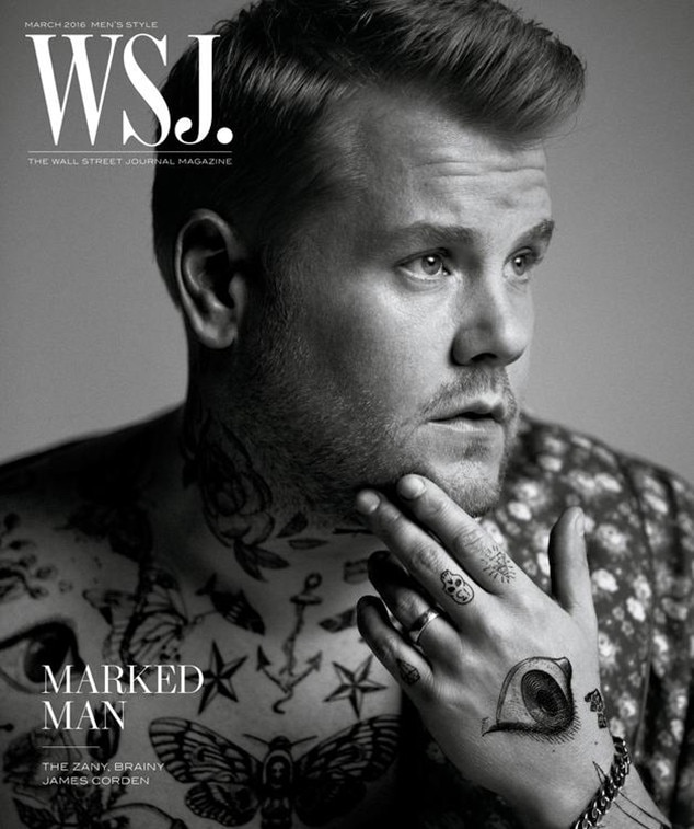 James Corden, WSJ
