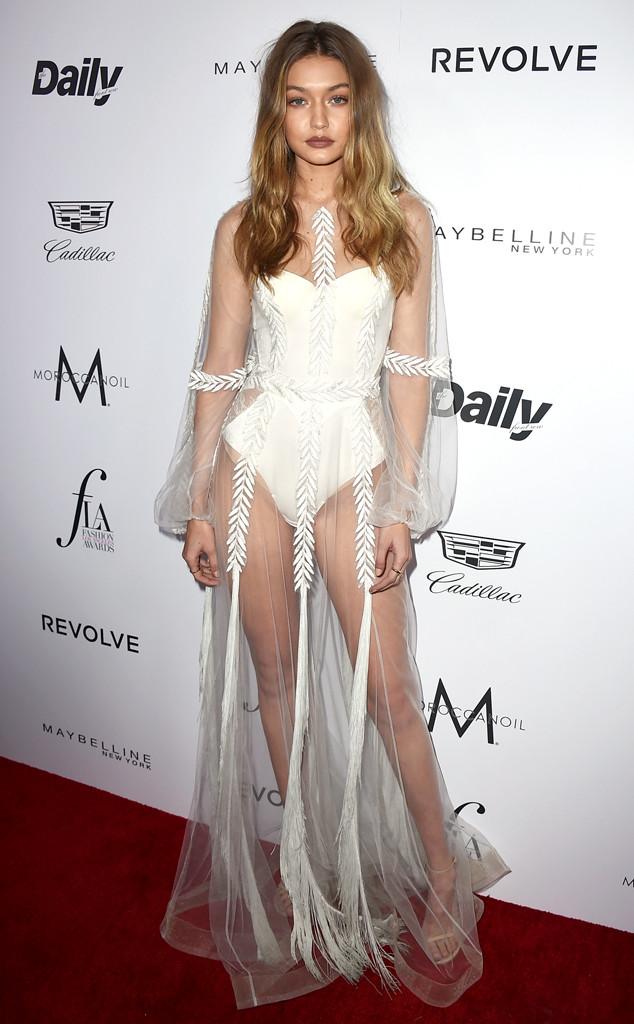 Gigi Hadid, Daily Front Row's Fashion Los Angeles Awards
