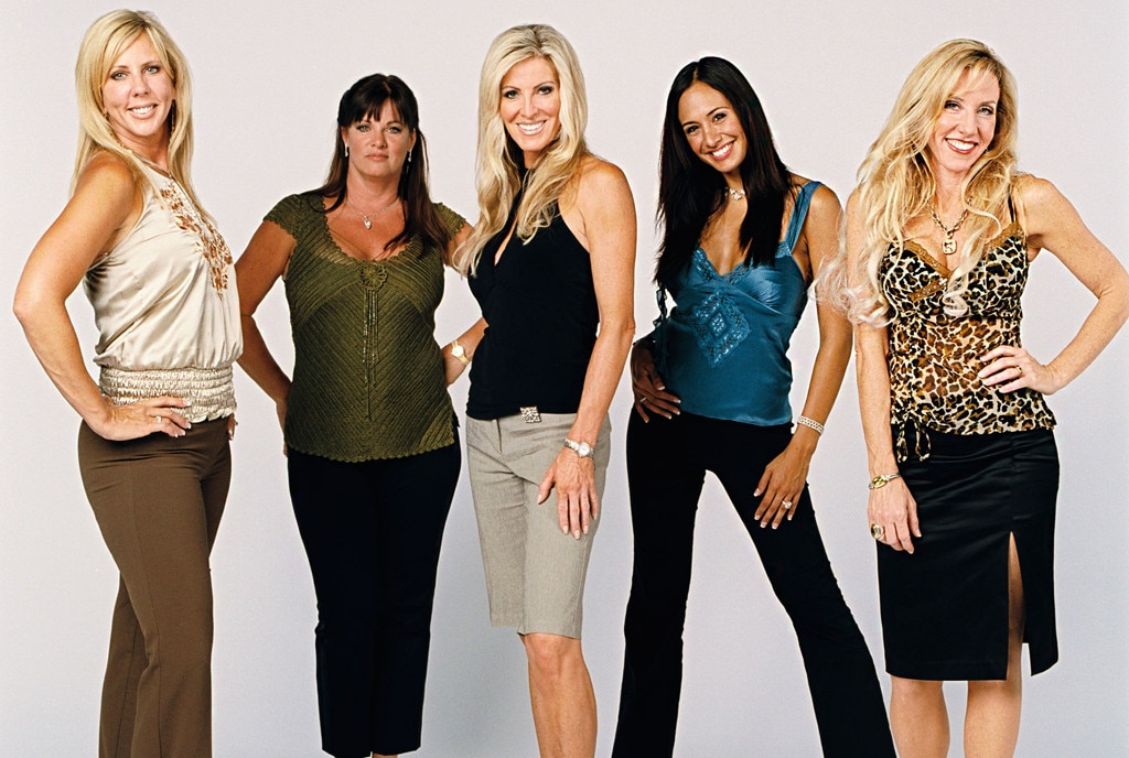 Real Housewives of Orange County original cast shot