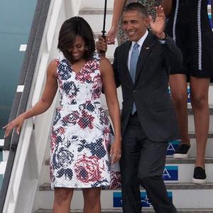Michelle Obama, Barack Obama, Sasha Obama, Malia Obama