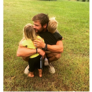 Elsa Pataky, Chris Hemsworth, Instagram