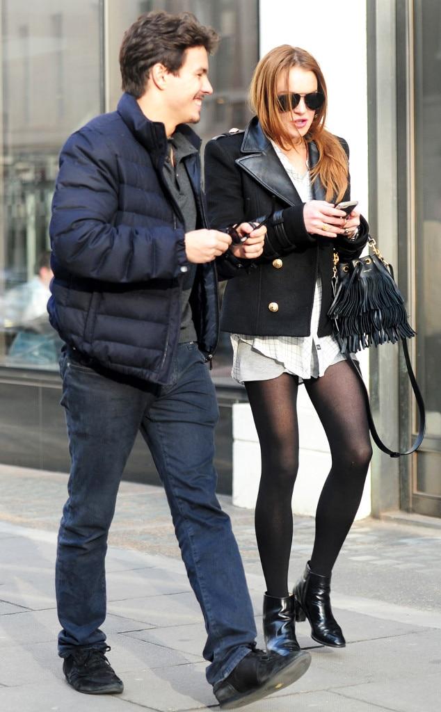 Lindsay Lohan, Egor Tarabasov