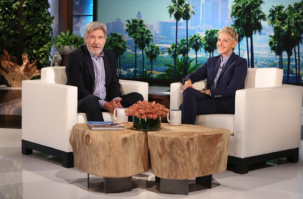 Harrison Ford, The Ellen DeGeneres Show