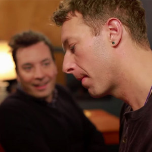 Jimmy Fallon, Chris Martin, Tonight Show