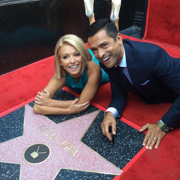 Star Power From Kelly Ripa And Mark Consuelos Cutest