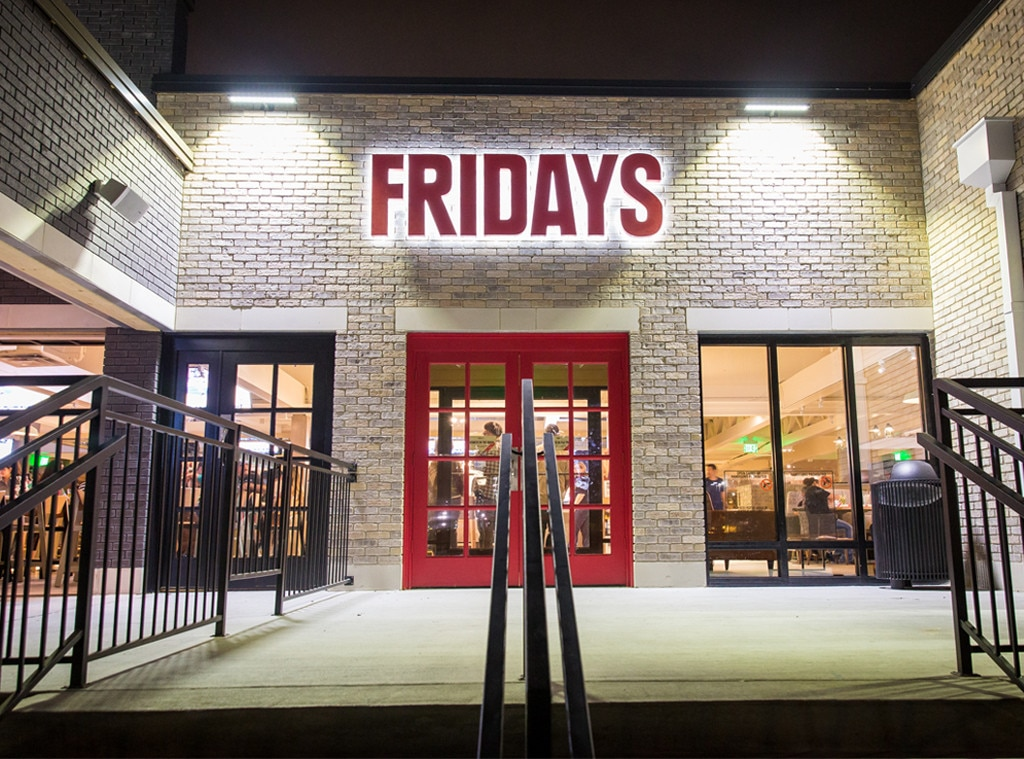 TGI Fridays New Design