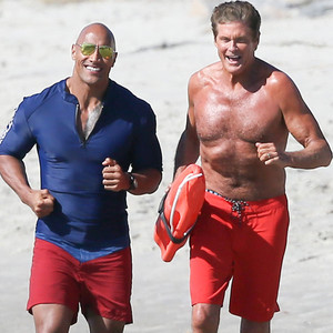 David Hasselhoff, Dwayne Johnson