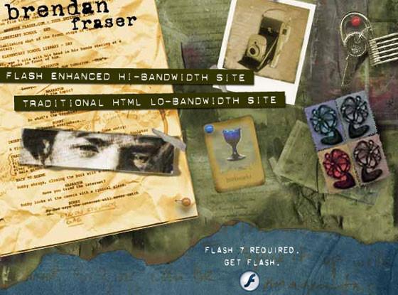 Brendan Fraser Website
