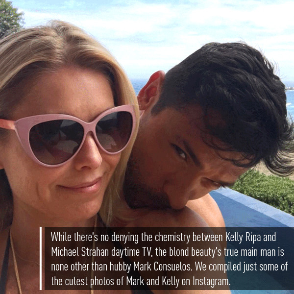 Kelly Ripa, Mark Consuelos, Instagram, Push Post