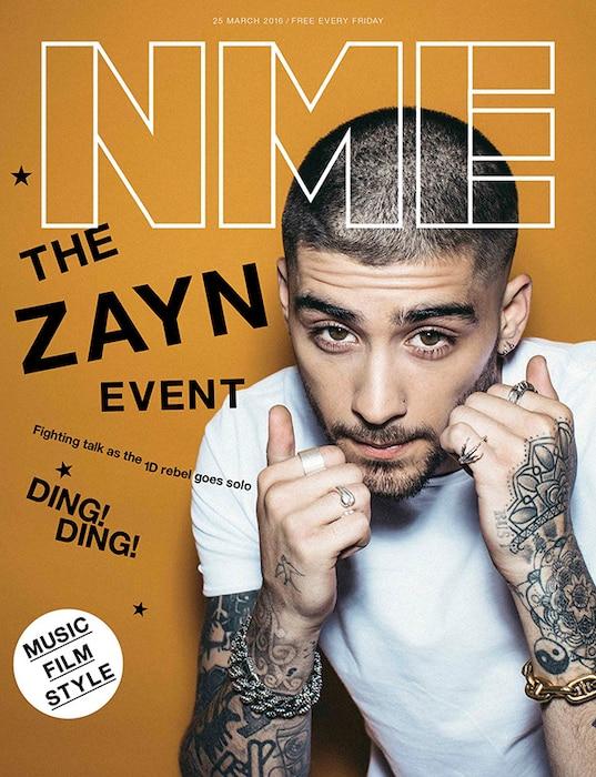 Zayn Malik, NME Magazine