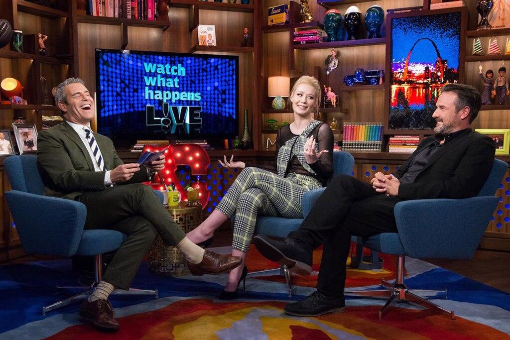 Andy Cohen, Iggy Azalea, David Arquette