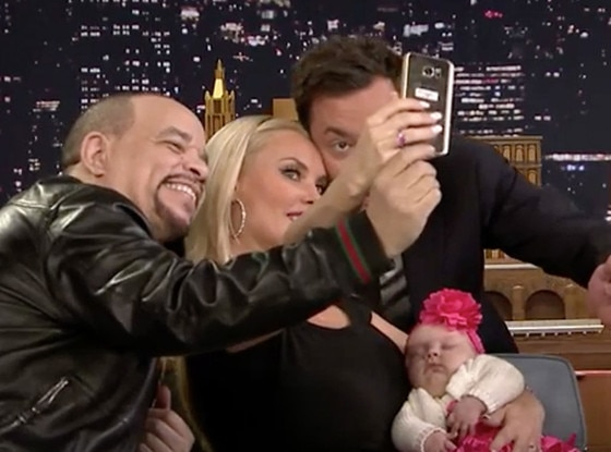 Jimmy Fallon, Ice-T, Coco, Chanel Nicole